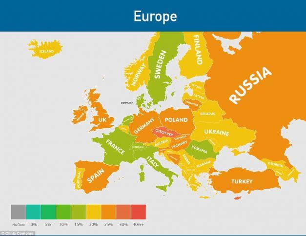 Epidemia de obezitate va face ravagii in toata Europa pana in