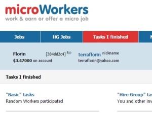 După o săptămână de... ''muncă'' pe MicroWorkers