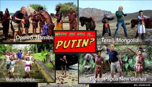 Unde este Putin? (Umor)