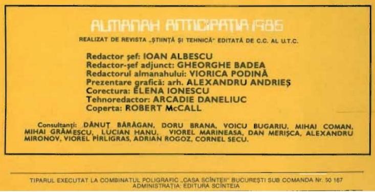 Almanah Anticipatia 1986 infocaseta