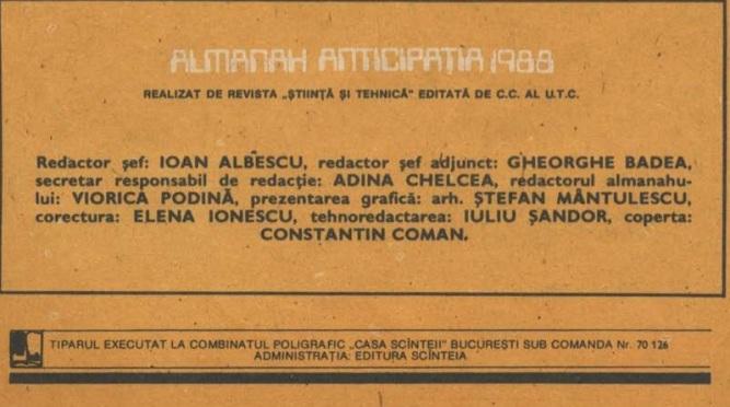 Almanah Anticipatia 1988 infocaseta