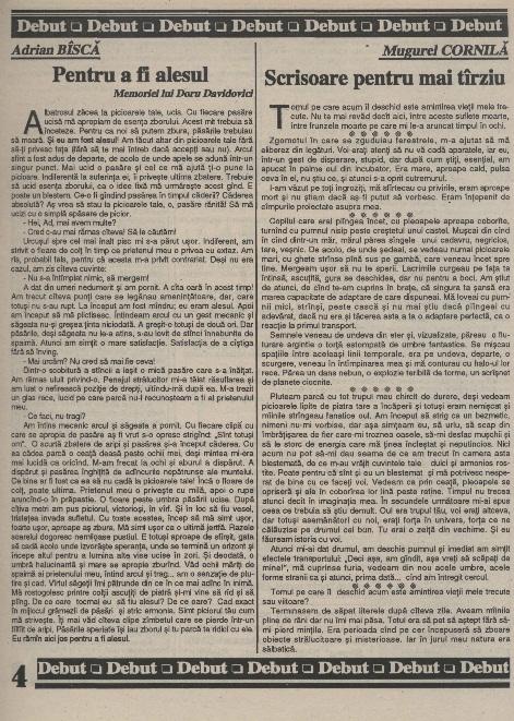Jurnalul SF - Nr. 1 pp. 4